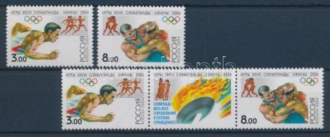 2004 Nyári olimpiai játékok, Athén sor + hármascsík Mi 1190-1191