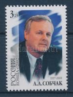 2002 Anatolij Sobtschak születésének 65. évfordulója Mi 1007