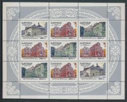 1995 850 éves Moszkva, Magán házak kisív Mi 415-417