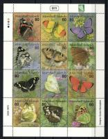 Schmetterlinge Zd-Bogen, Lepkék teljes ív, Butterflies complete sheet