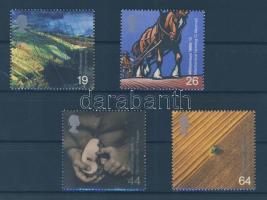 1999 Millennium (IX): fejlesztések a mezőgazdaságban sor Mi 1823-1826