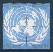 1995 50 éves az ENSZ négyestömb Mi 678-681