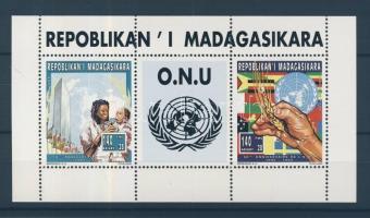 1995 50 éves az ENSZ kisív Mi 1805-1806