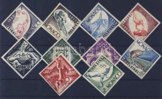 1953 Nyári olimpia 1952, Helsinki sor 458-467