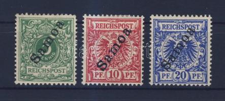 Samoa 1900 Mi 2, 3, 4
