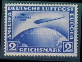 1930 Zeppelin Südamerikafahrt 2RM Mi 438Y