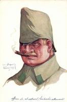German army, officer, s: E. Dupuis, Német katona s: E. Dupuis