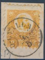 1871 Réznyomat 2kr narancs / Mi 8a Ó-GYALLA