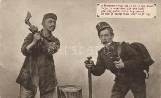Military humour, soldiers, Katonasági humor, katonák