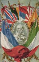Giuseppe Garibaldi, Entente flags