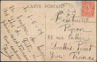 Postcard from Port Said to France, Képeslap Franciaországba