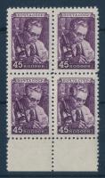 1948 Mi 1209 négyestömb