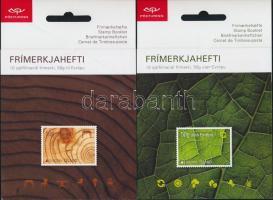 2011 Europa CEPT Erdők 2 öntapadós bélyegfüzet Mi 1306-1307