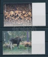 2011 Europa CEPT Erdők sor + kisívpár Mi 694-695