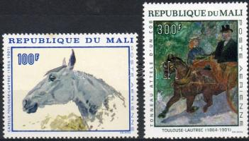 1967 Toulouse-Lautrec festmények Mi 158-159