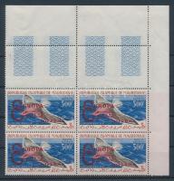 1962 Együttműködés négyestömb felülnyomással Mi VI I. típus