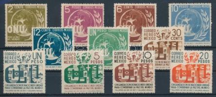 1946 ENSZ sor Mi 899-909