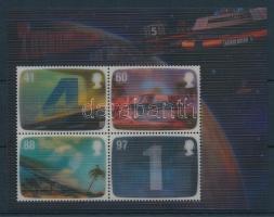 2011 Gerry Anderson sci-fi sorozatai 3D-s blokk Mi 62