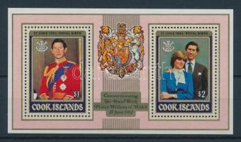 1982 William herceg születése blokk felülnyomással Mi 124