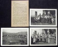 Hutsul folklore - 7 old, unused postcards in excellent condition, Czech description, Hucul folklór - 7 db kiváló állapotú, használatlan régi képeslap, cseh nyelvű leírással