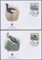 2000 WWF: Ritka állatok sor Mi 718-721 4 db FDC-n