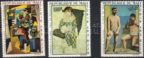 1967 Picasso festmények Mi 146-148