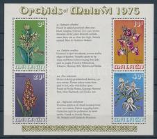 1975 Orchideák blokk Mi 40