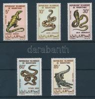 1969 Hüllők sor Mi 364-368