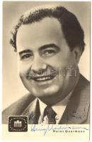 Heinz Querman dedikált fotó / photo with autograph