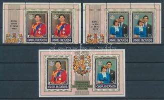 1982 Vilmos herceg születése Mi 818-821 + blokk 124