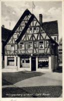 Klingenberg am Main, Café Renkl