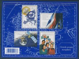 2008 Európai projekt blokk Mi 95