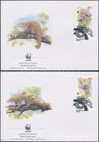 1995 WWF: Tobzoskák sor Mi 795-798 4 db FDC-n