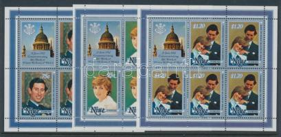 1982 Vilmos herceg születése Mi 462-467 kisívsor + blokk 57