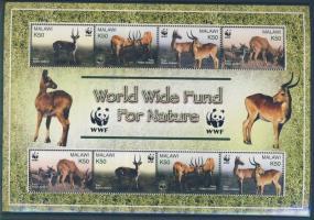 2003 WWF: Puku mocsáriantilop kisív Mi 721-724