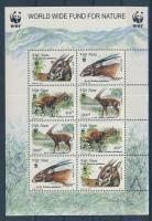 2000 WWF: Vietnami antilop kisív Mi 3063-3066