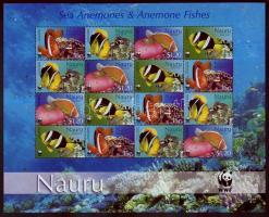 2003 WWF halak kisív Mi 553-556