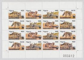 2003 WWF Sakál kisív Mi 762-765