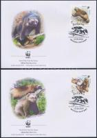 2004 WWF Torkosborz sor Mi 1198-1201 4 FDC-n