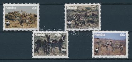 1991 WWF: Hartmann-hegyizebra sor Mi 702-705