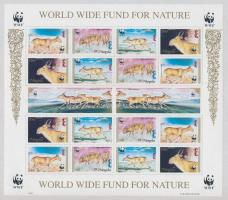 1995 WWF: Szajga (tatárantilop) ív Mi 2562-2565