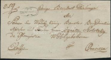 1842 Ex offo GR:WARDEIN - Oravicza
