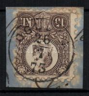 1871 Réznyomat 15kr OGULIN