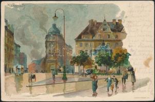 Nürnberg Charles' Square, s: Kley
