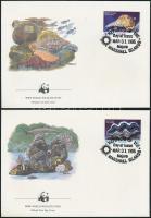 1986 Kagylók és tengeri állatok sor Mi 73-76 4 FDC-n