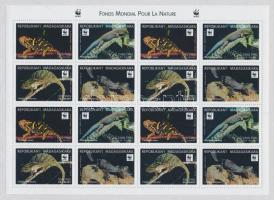 1999 Gyíkok kisív Mi 2313-2316