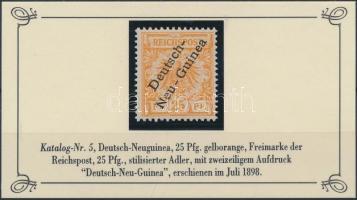 Deutsch Neuguinea 1897 Mi 5
