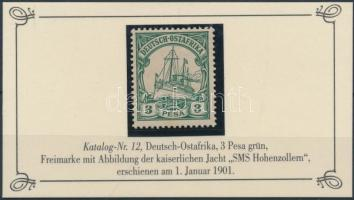 Deutsch Ostafrika 1901 Mi 12