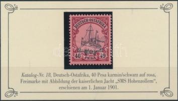 Deutsch Ostafrika 1901 Mi 18