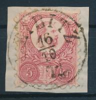 1871 Réznyomat 5kr LEIBITZ